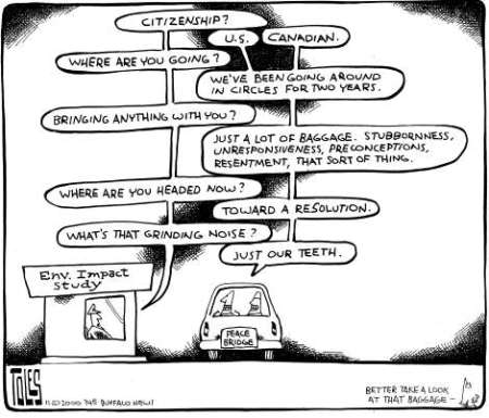 Peace Bridge - Tom Toles