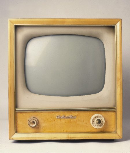 Really Old Television Set